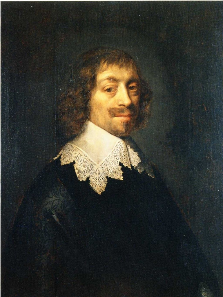 Constantijn Huygens geschilderd door M. van Miereveldt, 1641. Collectie Huygensmuseum Hofwijck
